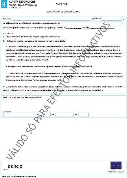 Orde do dog n 99 do 2013 5 27 xunta de galicia for Oficina de emprego galicia