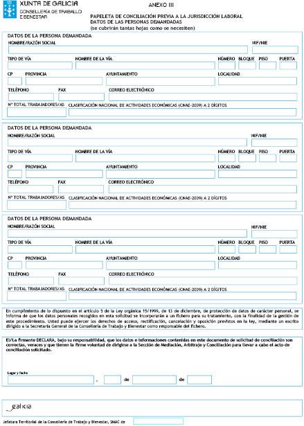 Orden del dog n 207 de 2013 10 29 xunta de galicia for Oficina xunta de galicia
