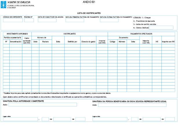 Orde do dog n 9 do 2015 1 15 xunta de galicia for Oficina xunta de galicia