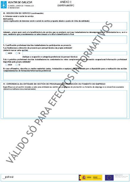 Orde do dog n 70 do 2015 4 15 xunta de galicia for Oficina de emprego galicia