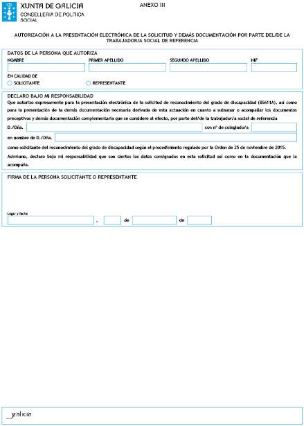 Orden Del Dog N 236 De 2015 12 11 Xunta De Galicia