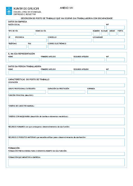 Orde do dog n 16 do 2016 1 26 xunta de galicia for Oficina de emprego galicia