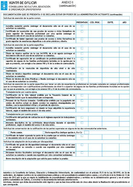 Orden Del Dog Nº 28 De 2016 2 11 Xunta De Galicia