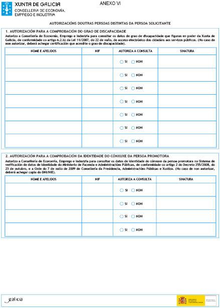 Orde do dog n 135 do 2016 7 18 xunta de galicia for Oficina de emprego galicia
