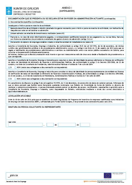 Orde do dog n 137 do 2016 7 20 xunta de galicia for Oficina de emprego galicia