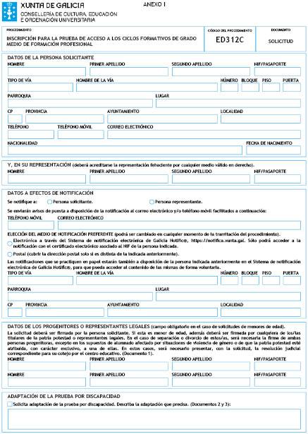 Orden Del Dog Nº 4 De 2017 1 5 Xunta De Galicia