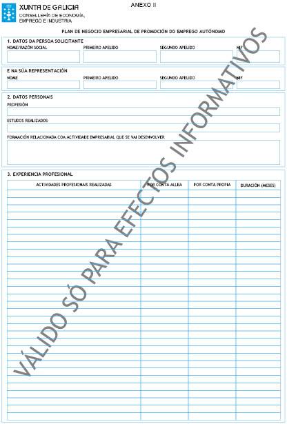 Orde do dog n 148 do 2017 8 4 xunta de galicia for Oficina de emprego galicia