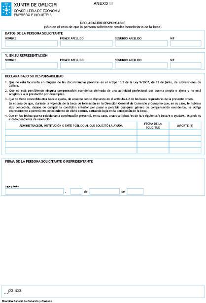 Orden Del Dog Nº 15 De 2018 1 22 Xunta De Galicia