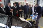 O conselleiro de Economía, Emprego e Industria, Francisco Conde, participou hoxe na inauguración da ITV do parque empresarial da Sionlla