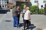 Pontecesures renovou a rede de saneamento nas rúas Ullán e ensanche a través da orde de Compensación Ambiental de Vicepresidencia