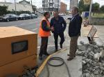 A Xunta acomete obras de mellora e ampliación do abastecemento en cinco rúas de Palas de Rei