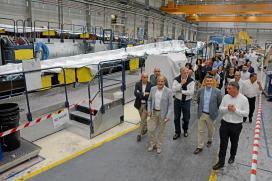 A Xunta felicita a Siemens Gamesa na celebración do vixésimo aniversario da posta en funcionamento da pranta das Somozas