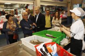 Conde subliña no 'Día do Mercado' o papel das prazas galegas na dinamización económica e como parte do patrimonio cultural
