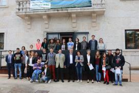 """Cores Tourís clausura o obradoiro de emprego """"dinamización turística"""" de Tomiño no que se formaron 20 alumnos"""