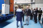 O conselleiro de Economía, Emprego e Industria, Francisco Conde, na súa visita ao centro tecnolóxico Aimen