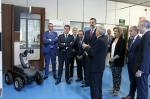 O presidente da Xunta acompaña a Filipe VI na celebración do 50 aniversario de Aimen