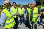 A Xunta inviste máis de 585.000 euros na reparación e reforzo do firme de tres estradas de once concellos da comarca coruñesa