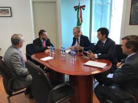 Conde conclúe a súa viaxe a México con novas expectativas para a internacionalización do sector galego do contract, a automoción e as enerxías renovables
