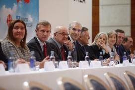 Rueda e Conde asisten en Sanxenxo á entrega dos galardóns 'Autónomos Distinguidos' no marco do IX Congreso de Traballadores Autónomos de Galicia