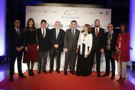 Feijóo aposta por seguir apoiando as empresas familiares como piar fundamental da economía galega