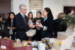 O conselleiro de Economía, Emprego e Industria, Francisco Conde, visitou o Espazo Pop Up, saberes e sabores