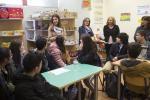 A directora xeral de Comercio e Consumo, Sol Vázquez Abeal, visitou hoxe as actividades que realiza a Escola Galega do Consumo, emprazada en Santiago