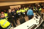 O presidente da Xunta visitou hoxe as instalacións da central térmica das Pontes de García Rodríguez
