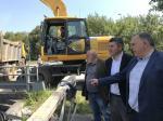 A Xunta porá en servizo en verán a nova senda peonil e ciclista entre A Laracha e O Cancelo, grazas a un investimento de case un millón de euros