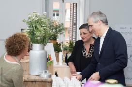 Conde salienta que o Pop Up 'Saberes e sabores' achega a Madrid a perfecta maridaxe entre a cociña e a artesanía de Galicia