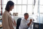 A directora da Axencia Galega de Innovación (Gain), Patricia Argerey, visitou a empresa referente en Galicia no ámbito da cerámica para coñecer o relanzamento que está vivindo e que está vinculado ao deseño e á innovación