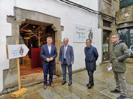 A Xunta apoia con máis de 486.000 euros a mellora da competitividade do comercio de proximidade na comarca de Santiago