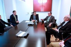 O presidente da Xunta mantén unha xuntanza co consello de administración de Scottish Power