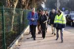 Ethel Vázquez salienta a incidencia positiva na mobilidade dos veciños de Oleiros do itinerario peonil e ciclista continuo entre Montrove, As Pedreiras e O Carballo, cun investimento de 800.000 euros