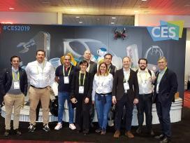 A Xunta destaca a aposta das startups galegas por impulsar proxectos comúns coas multinacionais que participaron na feira da electrónica de EEUU