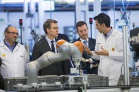 Feijóo aposta por seguir impulsando a innovación no tecido industrial que contribúe a que Galicia estea a pechar 2018 cun IPI e cunhas exportacións crecendo o dobre que no resto de España