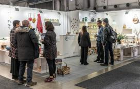 A Xunta promove a artesanía de Galicia na feira de referencia do deseño escandinavo que se celebra en Estocolmo ata o venres