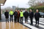 A Xunta recepciona o primeiro tramo de mellora da estrada PO-235 entre Antas e Seixido na Lama