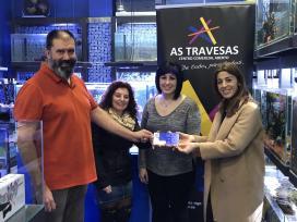 A Xunta apoia o traballo do centro comercial aberto das Travesas de Vigo para dinamizar o comercio de proximidade