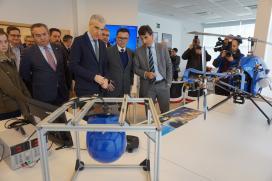 O polo aeroespacial de Galicia avanza no deseño de solucións innovadoras que dan resposta ás necesidades reais da administración como na prevención de incendios
