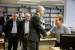 O conselleiro de Economía, Emprego e Industria visitou hoxe Industrias Guerra e Hitraf en Vila de Cruces