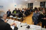 Francisco Conde participou nun networking con empresarios da comarca do Deza