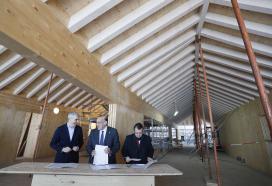 A Xunta e a Universidade de Vigo colaboran para impulsar a utilización do granito e da madeira na construción