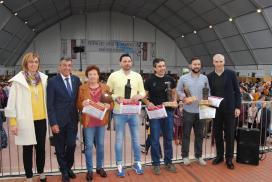 Conde destaca en la Feria del Vino de Sober el papel de este sector en la dinamización económica del rural gallego