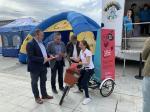 A Xunta e Os Bolechas achegan a Lugo a campaña para concienciar sobre a reciclaxe dos residuos electrónicos