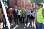 A Xunta inviste 650.000 euros nas obras de acondicionamento da avenida da Terra Chá, que están en marcha en Vilalba