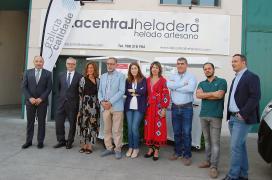 Galicia Calidade certifica os xeados artesanais da empresa ourensá La Central Heladera