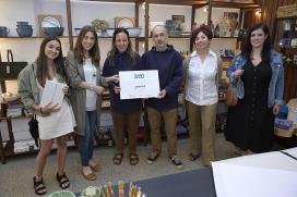 A iniciativa da Xunta 'Comercio con talento' premia as tendas coruñesas Varaston, Crafty Lu, Ai! Carmiña e a queixería da praza de Vigo