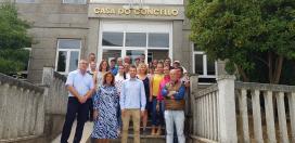 A Xunta entregou os diplomas ao alumnado do obradoiro de emprego 'Terras da Castaña' que mellorou a súa formación e accederon a un posto de traballo