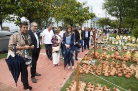 A Xunta apoia a posta en valor do oficio tradicional da olería colaborando na XXV mostra de Alfaroleiros