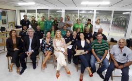 Corina Porro clausura o obradoiro de emprego 'Mos Rehabilita' no que se formaron 20 desempregados en albanelería e xardinería